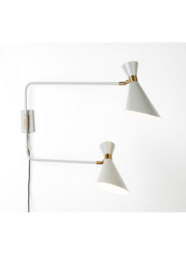 SHADY DOUBLE WALL LAMP