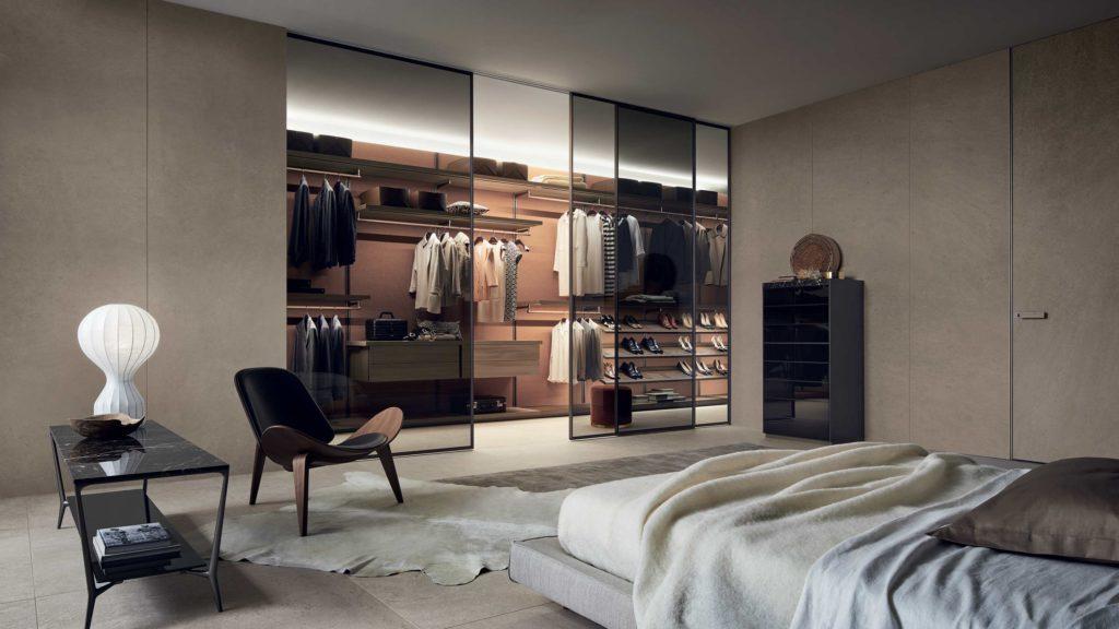 Rimadesio Walk in wardrobe