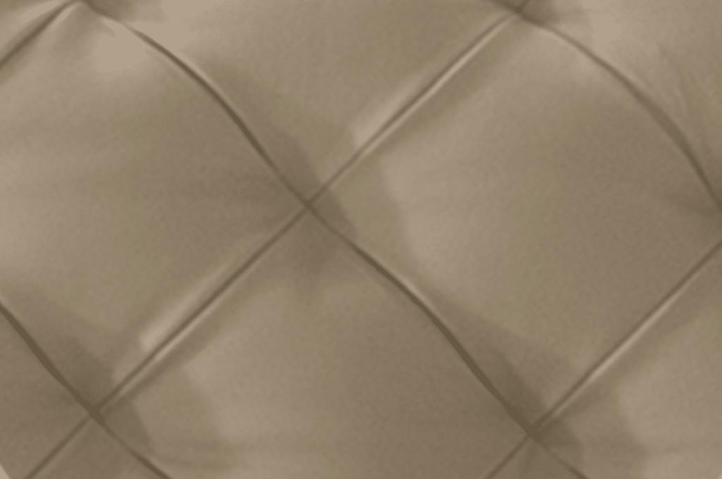 stitching of a natuzzi sofa